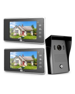 7-inch Color Monitors Video Doorbell Kit