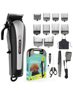 Professional Cord/Cordless Pet Grooming Clipper Kit
