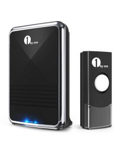 Easy Chime Wireless Doorbell Kit, 6 Melodies to Choose