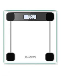Precision Digital Body Weight Bathroom Scale with Lighted Display, Step-On Technology, 400 Pounds