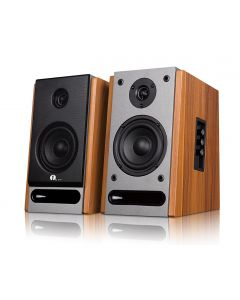 Bluetooth Classic Bookshelf Speaker with 4'' Woofer and 1'' Tweeter