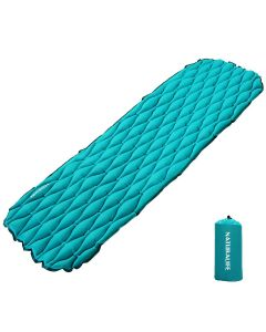 Naturalife Easy-Inflating Sleeping Pad for Camping, Backpacking & Hiking,