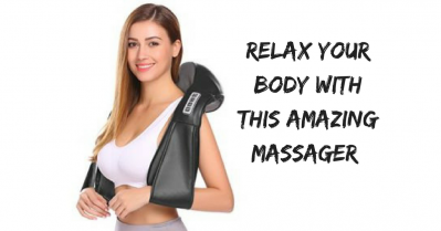 Relax and Enjoy Your MeTime with this 1byone Shiatsu Neck and Back Massager