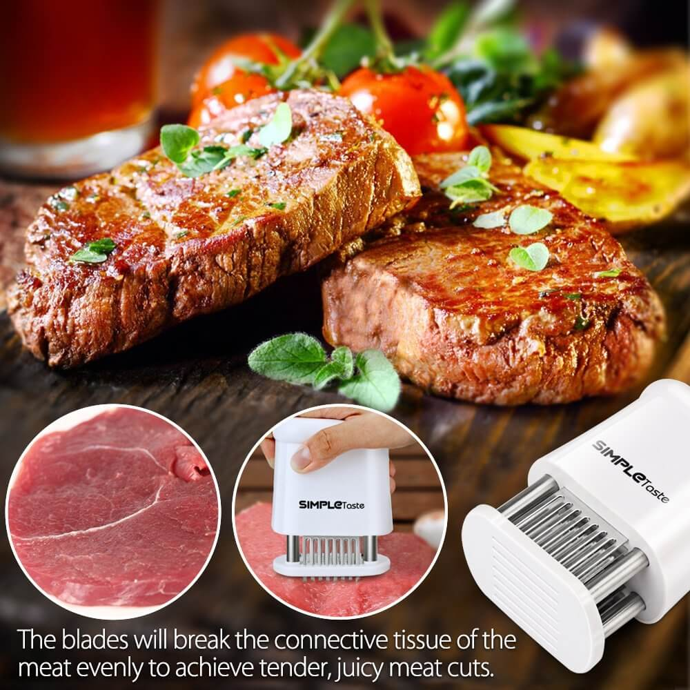 meat tenderizer| meat tenderizer machine| tenderize beef| Kitchen appliances| stainless tenderize|easy cooking