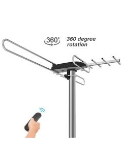 80 Miles Enhanced Outdoor TV Antenna