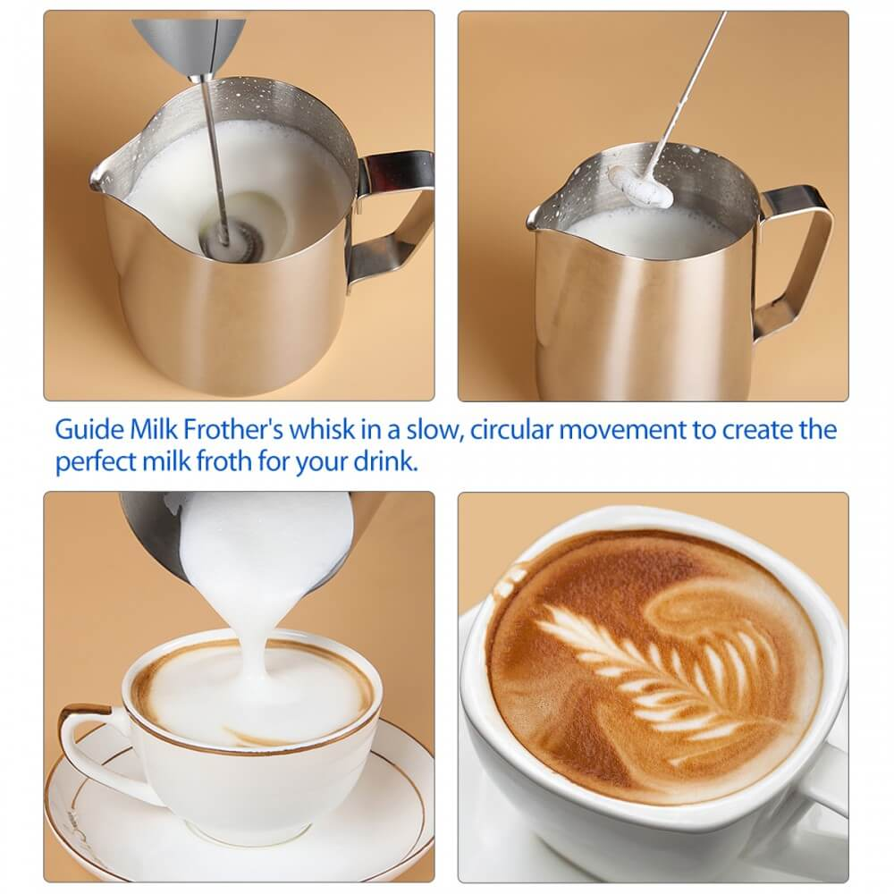 Achieving the Best Foam With Simple Taste Milk Frother!