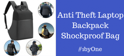 1byone's Anti Theft Laptop Backpack Shockproof Bag- The Ultimate Protection for Your Laptop