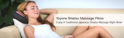 The best Shiatsu Massage pillow available on Amazon