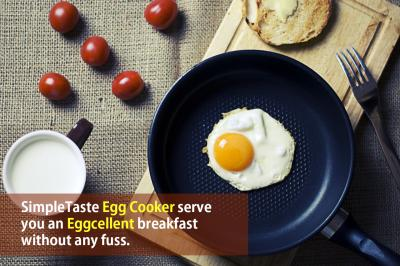 The SimpleTaste Electric Egg Cooker Can Cook 7 Eggs At Once