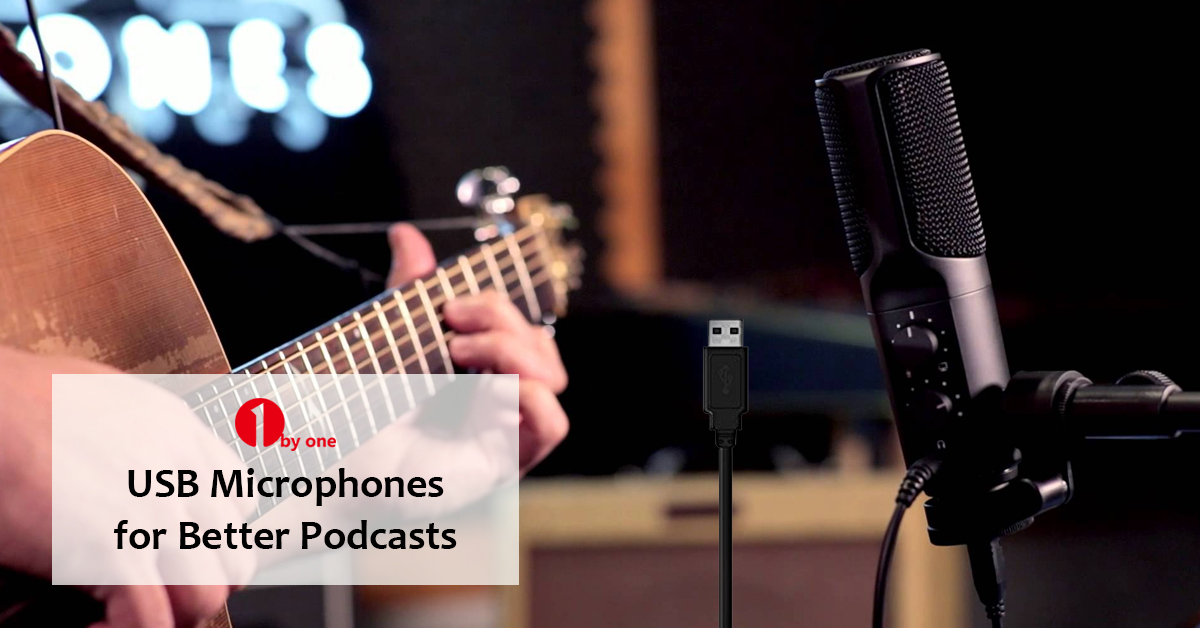 Get the Best Recordings with the 1byone USB Microphone