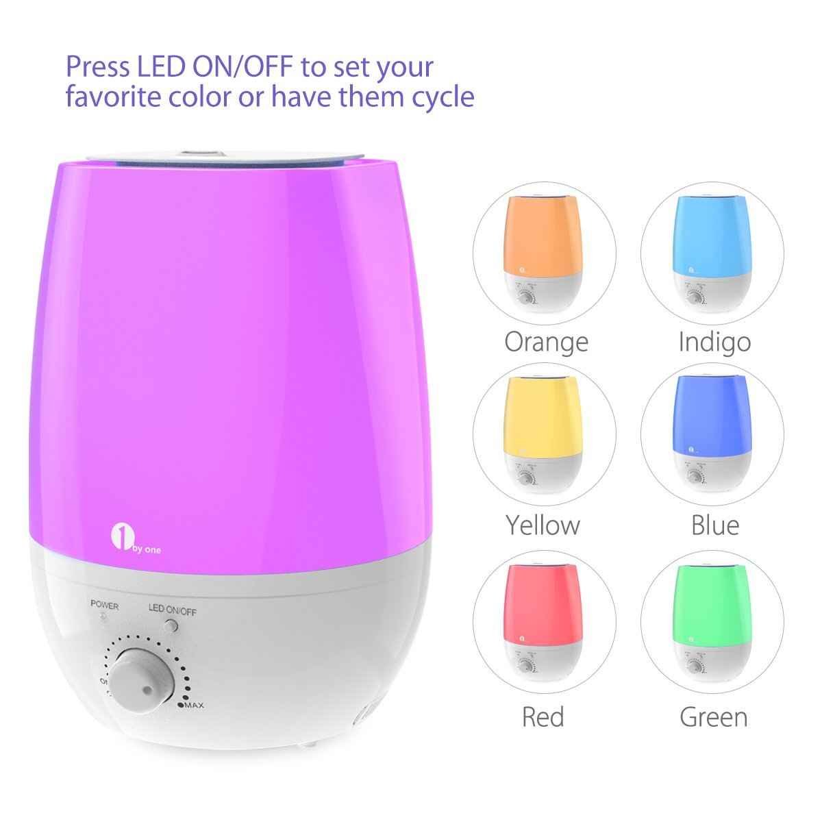 1byone Cool Mist Humidifier